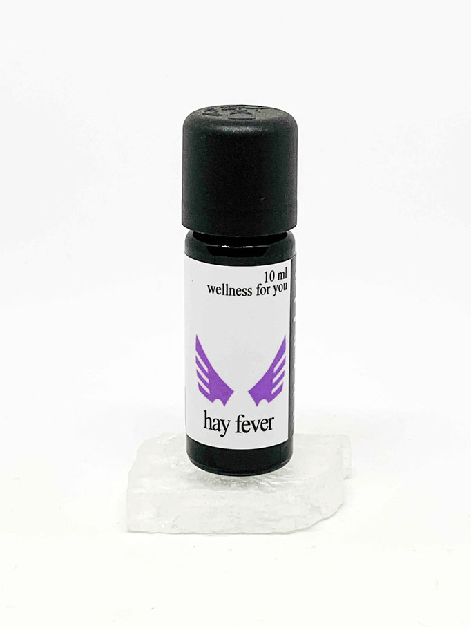 hay fever, 10 ml (bei Pollen, Gräser, Hausstaub- Tierhaarallergie. beruhigt die Schleimhäute und unterstützt freies Durchatmen)