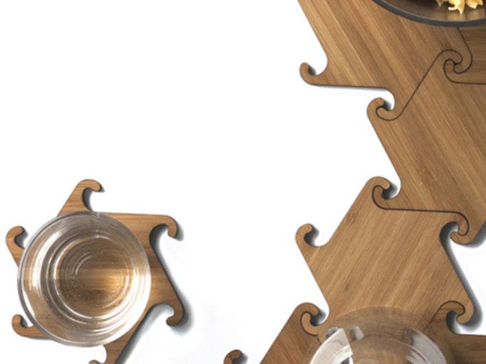 Glas- oder Pfannenuntersatz