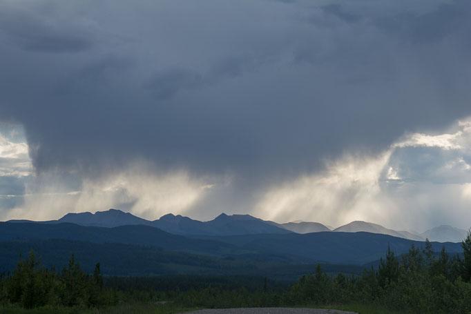 Gewitterstimmung über den Rockies