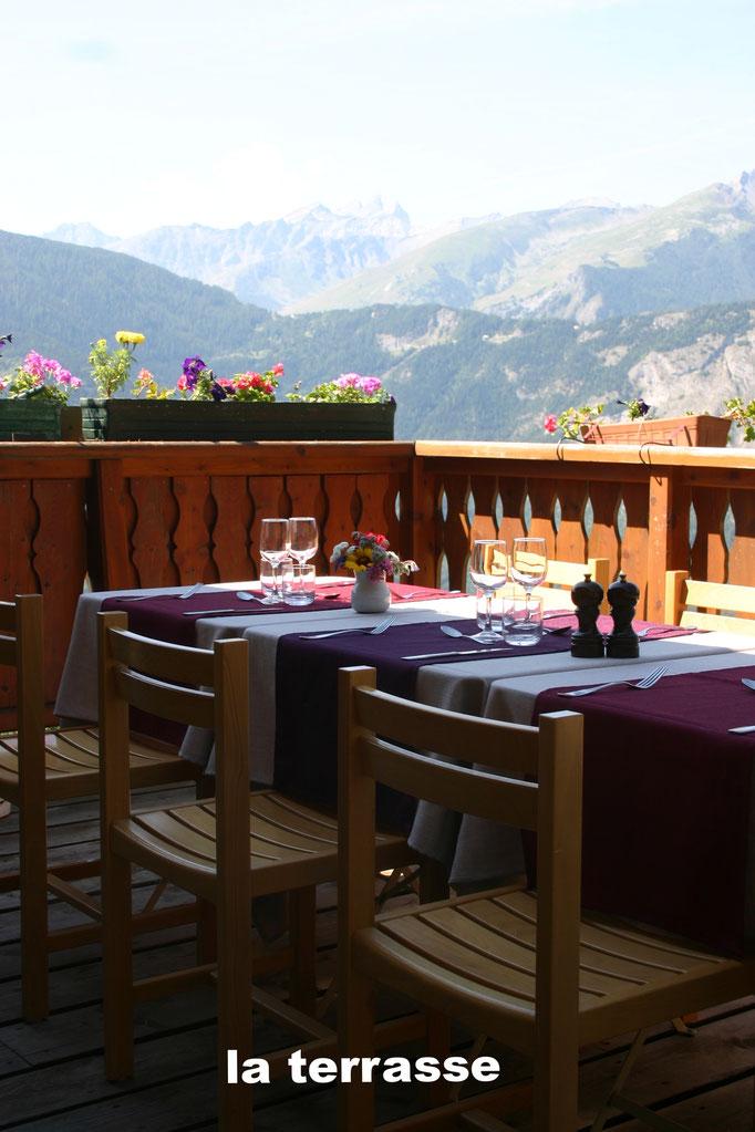 la terrasse- aiguilles d'arc- vue panoramique-calme