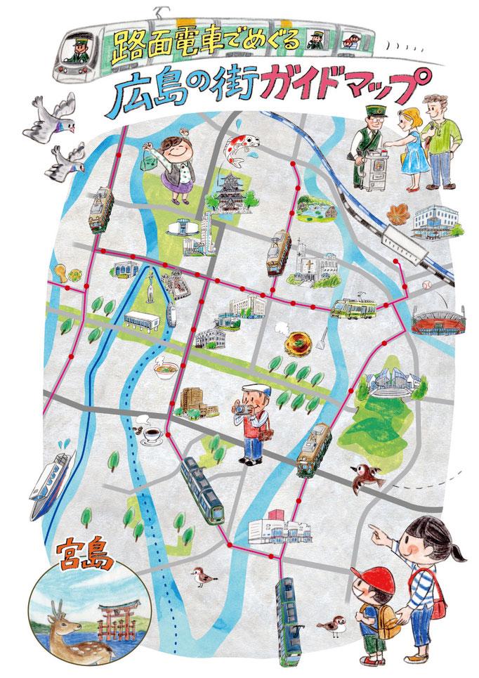 イラストレーションマップ