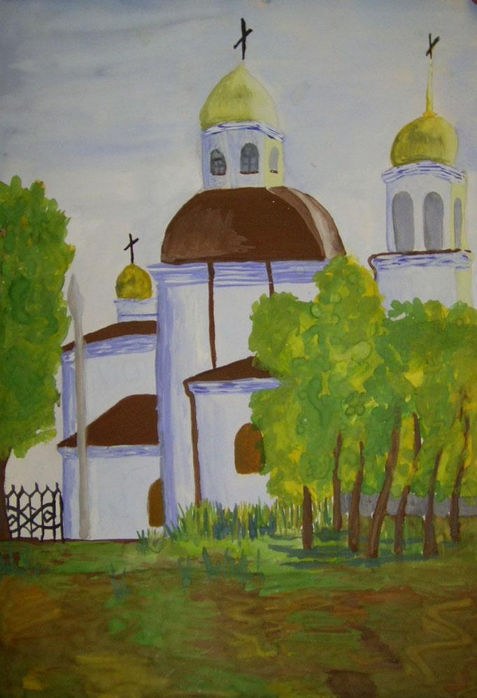 Саяногорская церковь