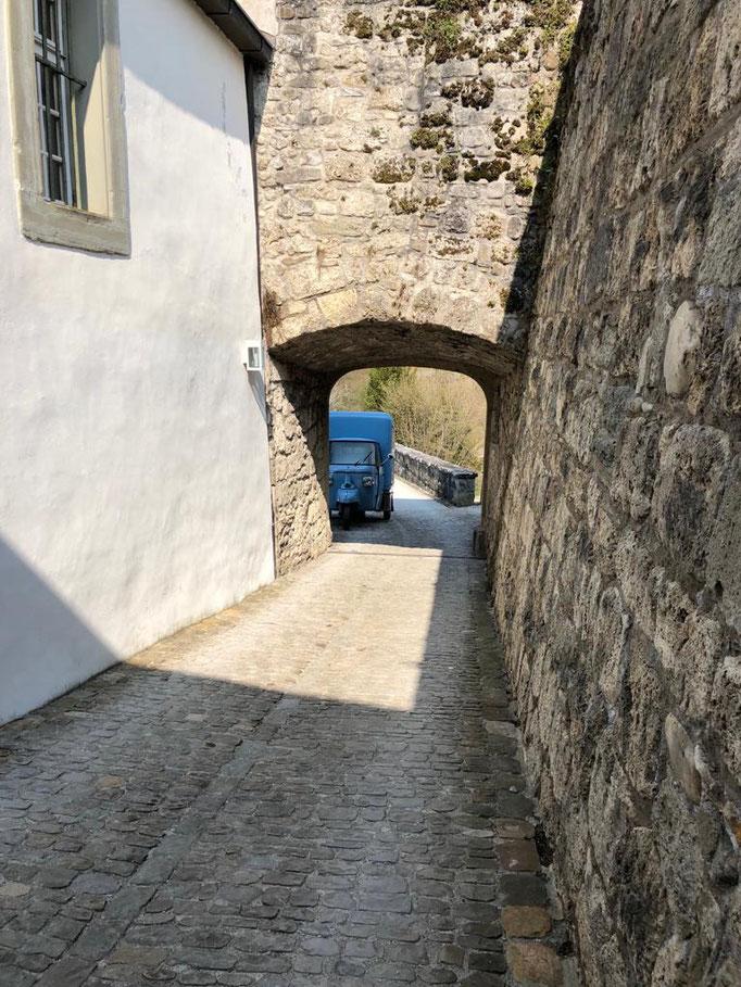 Anfahrt Schloss Laupen