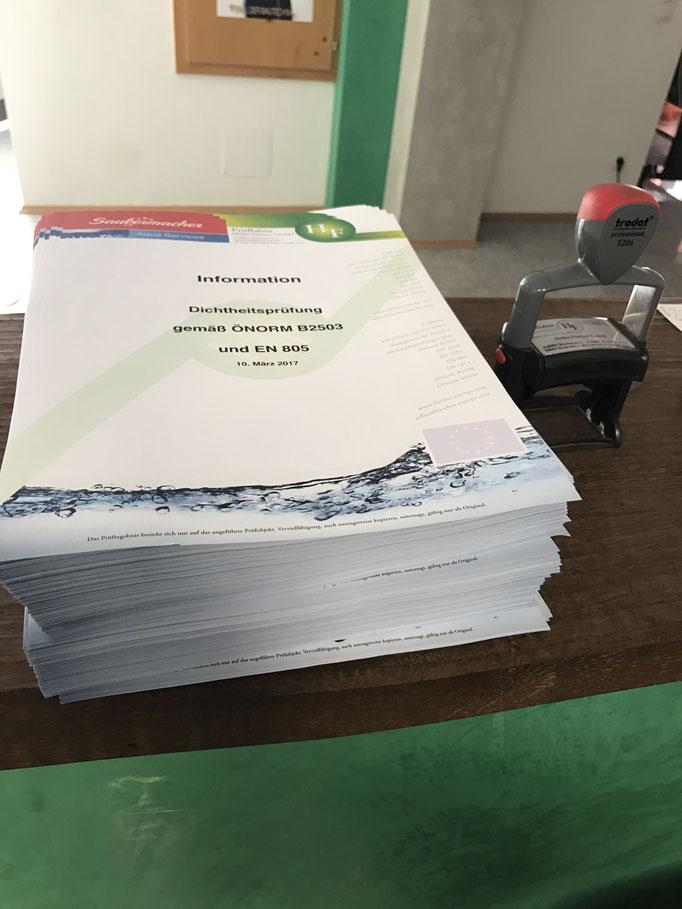 Information zur ÖNORM B2503 und EN805