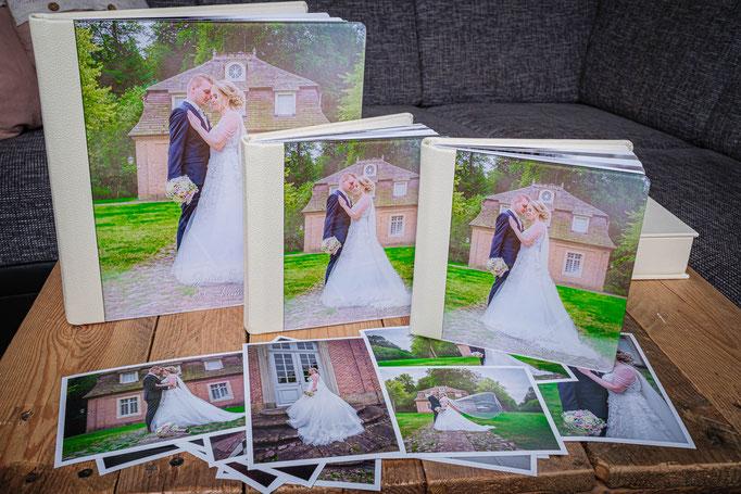 Hochzeitsfotobuch Acrylglas Cover