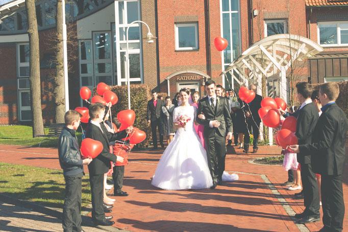 Hochzeitsfotograf Saterland standesamt saterland