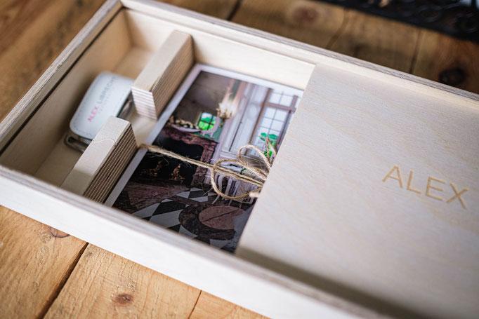 Hochzeit Usb Stick Holzbox Fotos