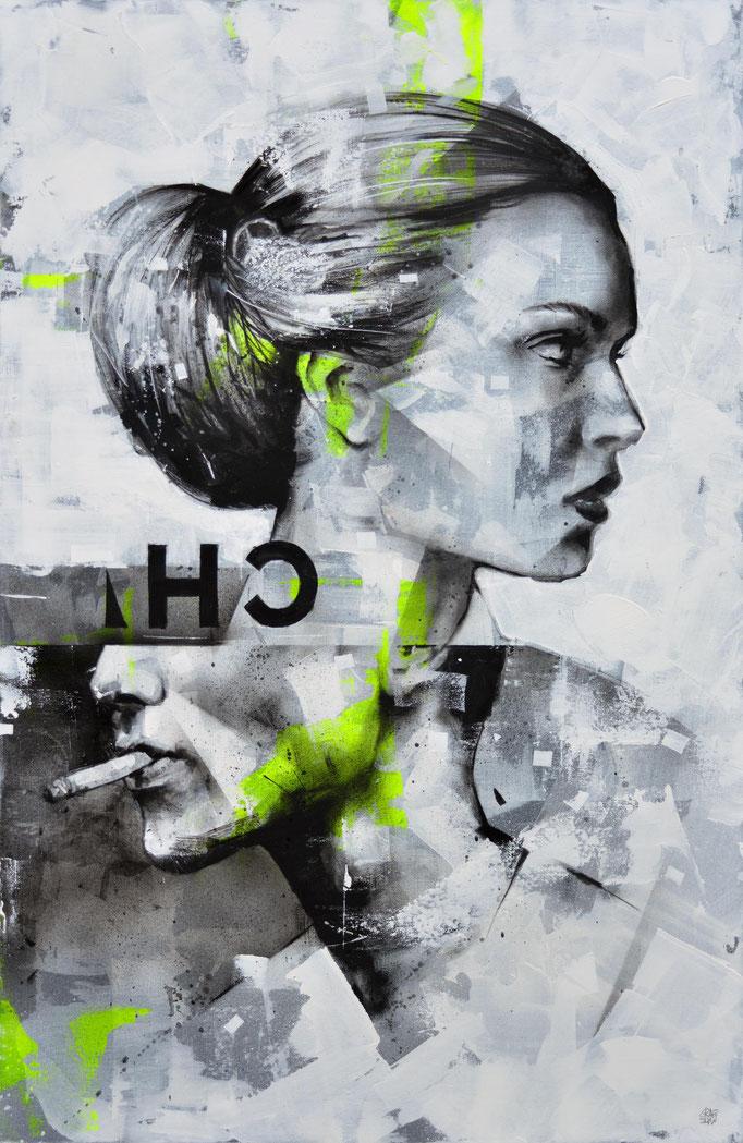 """<b>AT THE CROSSROAD (2)</b><br>100 x 64 cm<br><a href=""""/app/module/webproduct/goto/m/me6ce055e0e98f1ea6a"""" ; style=""""color:#49bfc0;"""" target=""""_blank"""">Disponible à la vente</b><alt=""""art portrait homme femme glitch effect tableau galerie art chambéry savoie"""">"""