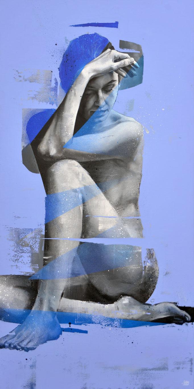 "<b>CRYSTAL HEART</b><br>140 x 70 cm<br><a href=""/app/module/webproduct/goto/m/m4fcecfb8c3b50f0d"" ; style=""color:#49bfc0;"" target=""_blank"">Disponible</b><alt=""art streetart portrait femme graffiti gris perle fashion graffmatt artiste france chambéry>"