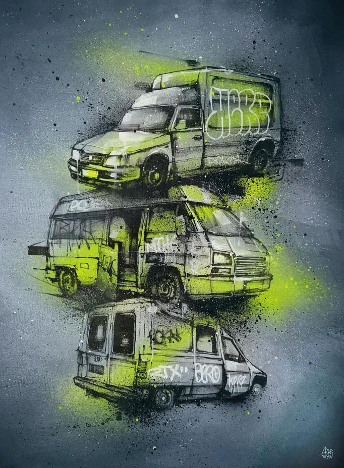 """<b>MULTI-UTILITY</b><br>100 x 65 cm<br><a href=""""/app/module/webproduct/goto/m/m8bfbf55870705737"""" ; style=""""color:#49bfc0;"""" target=""""_blank"""">Disponible à la vente</b><alt=""""art tableau peinture voiture utilitaire camion streetart graffiti urbain moderne"""">"""