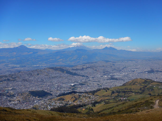 Rucu Pichincha - Quitos Hausberg