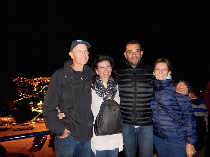 Stadttour mit Toni, Vero, Edwin und Rina