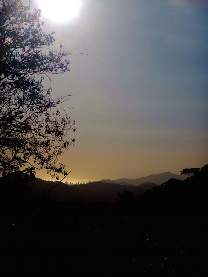 Sicht auf Santa Marta