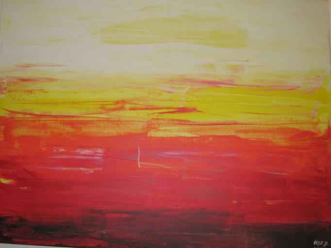 Nr. 3 Acryl auf Leinwand 80 x 60