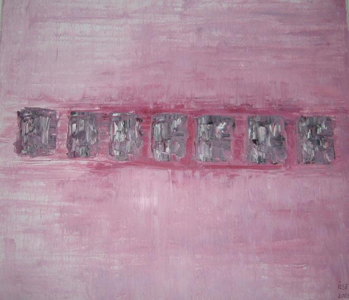 Nr. 1  Acryl auf Leinwand 80 x 70