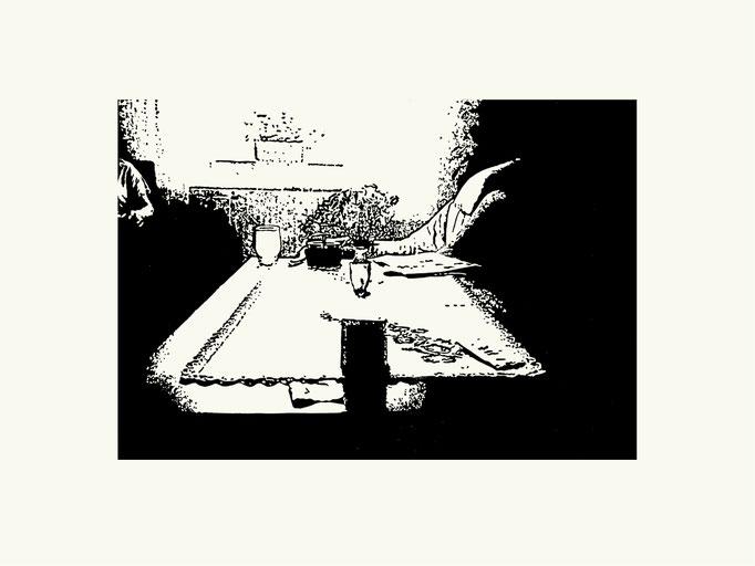 Nummer 38 | 40x 60 cm | Linoldruck auf Papier | 2013