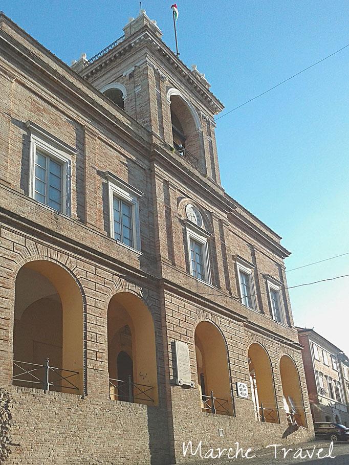 Montefano, Ex Palazzo Comunale