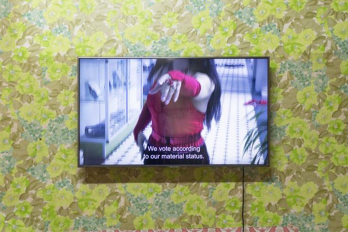 Mikolaj Sobczak, 2020, Installation view © Haus Wien, photo: Haus Wien