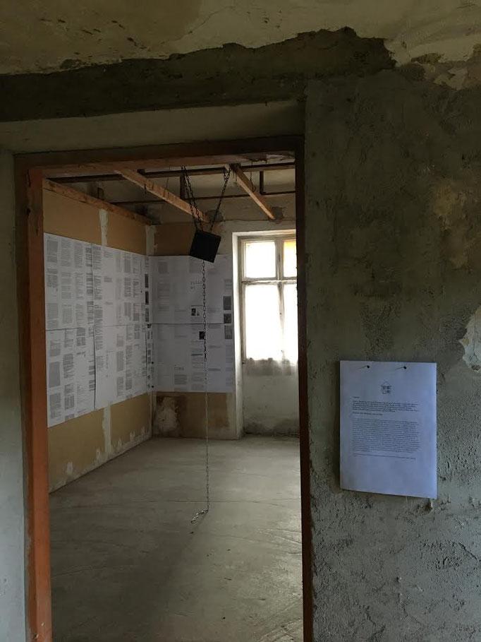 Andrew Hodgson, 2020, Installation view © the artist, photo: Haus Wien