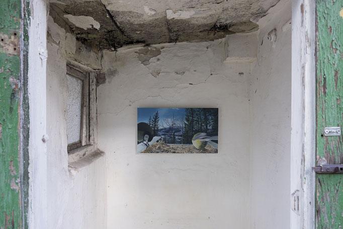 Scott Rogers, 2020, Installation view (detail) © Haus Wien, photo: Jacqueline Neubauer