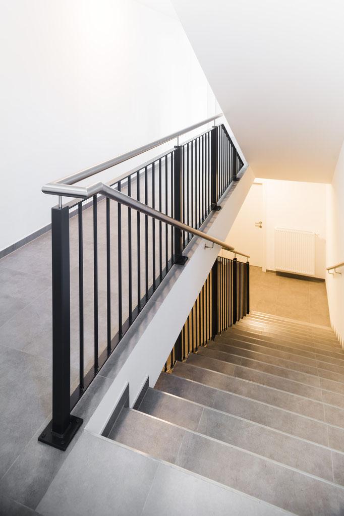 Imando Projekt Am Steinfeld Treppenhaus