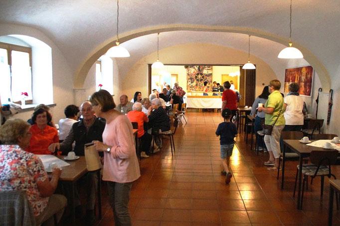 Cafe des Frauenbundes im Pfarrheim
