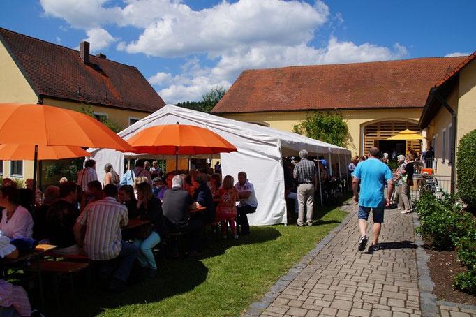 Viele Besucher kamen zum Pfarrfest