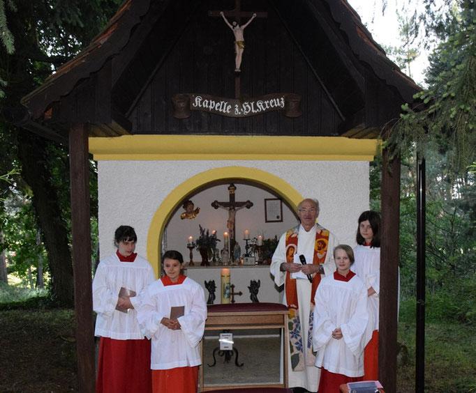Maiandacht der Pfarreiengemeinschaft an der Boneder-Kapelle
