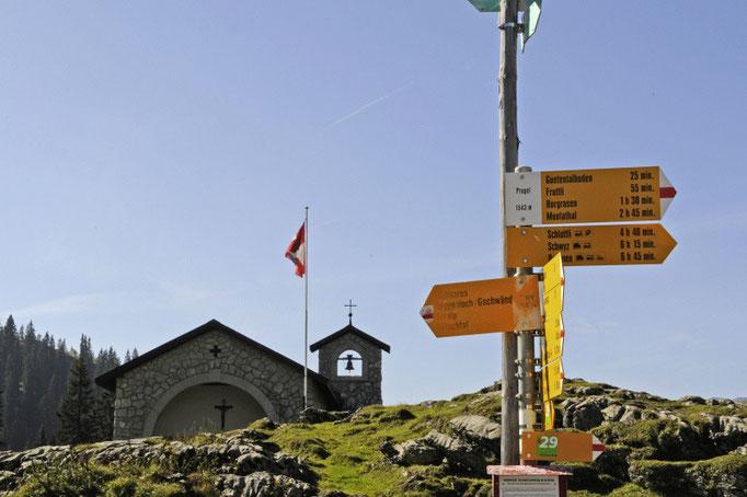 Pragelpasshöhe 1554m