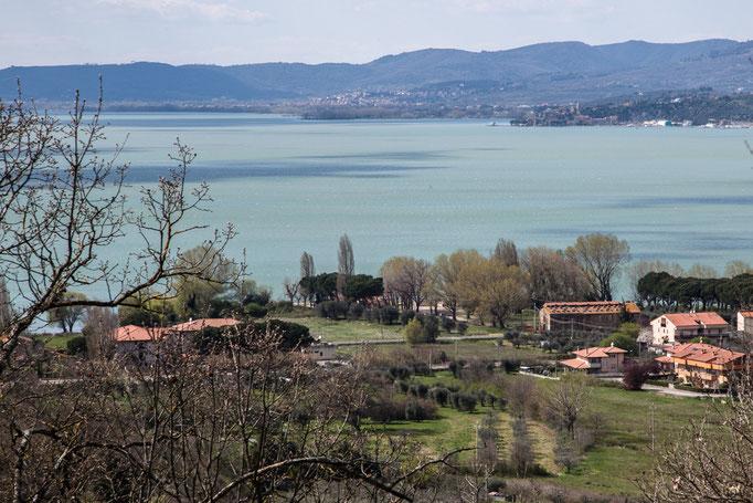 Eine Runde um den Lago Trasimeno