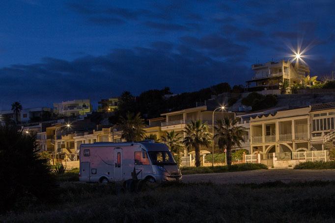 Übernachtungsplatz in Secca Grande
