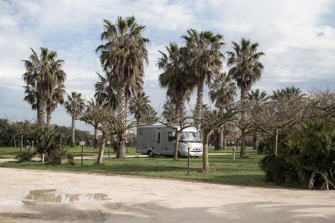 Campingplatz Biscione bei Petrosino