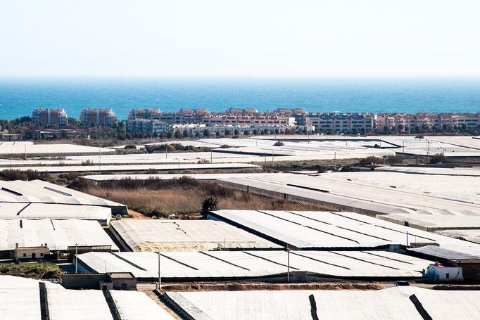 Spanien unter Plastik