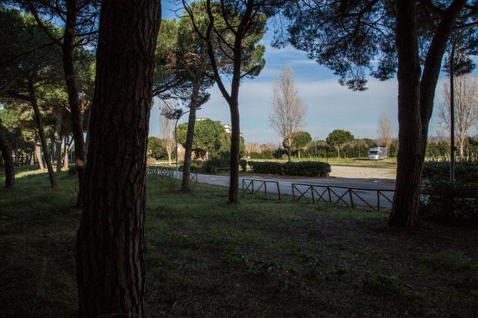 Stellplatz in Montaldo Marina