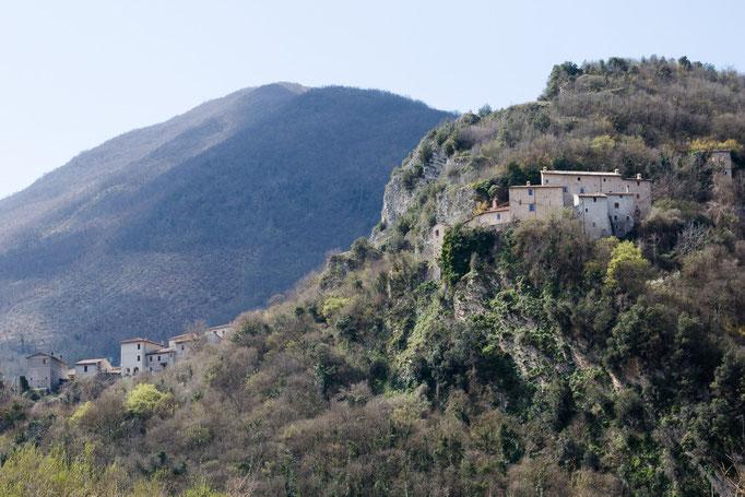 auf dem Weg nach Spoleto
