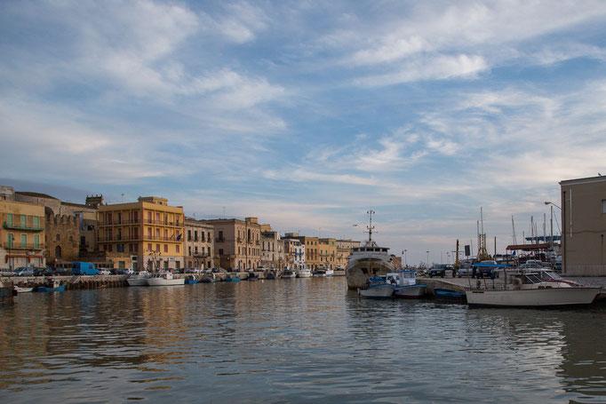 Der Hafen von Mazara del Vallo