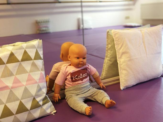 Babypuppe Kalea, Ikea Kissen, Kalea Babykurse & mehr