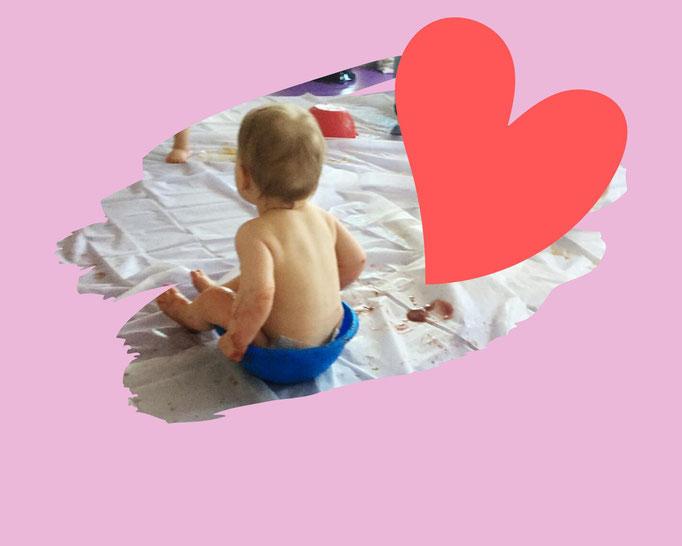 Der Kalea Kurs, matschen, DM Bio, Kalea Babykurse & mehr