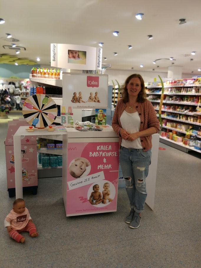 dm Drogerie Markt, Gewinnspiel, Glücksrad, Kalea Babykurse & mehr, Maike Hutter