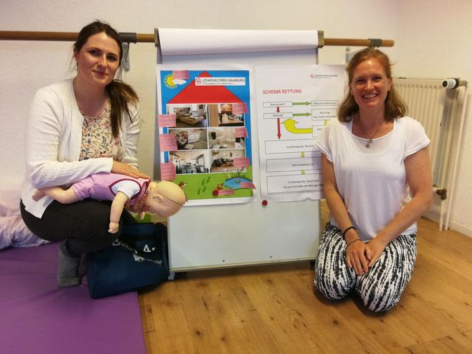 Löweneltern Hamburg, 1. Hilfe Kurs, Kalea Babykurse & mehr, Maike Hutter