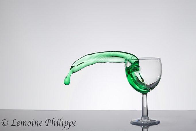 Liquide en suspension