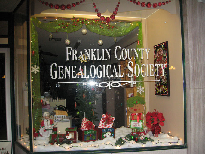 FCGS Christmas window, 2015