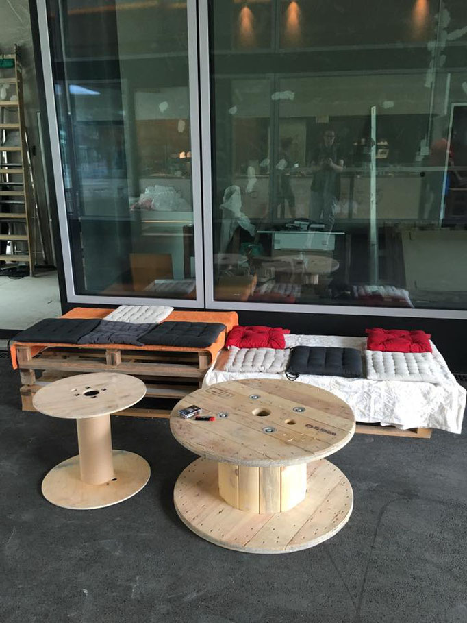 spontan noch Möbel gebaut