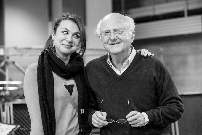 Vladimir Cosma et Sarah Nemtanu