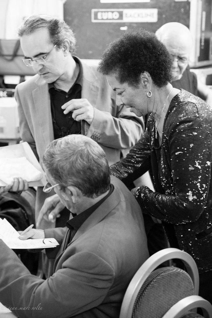 Rhoda Scott avec Carl Schlosser et Philippe Chagne