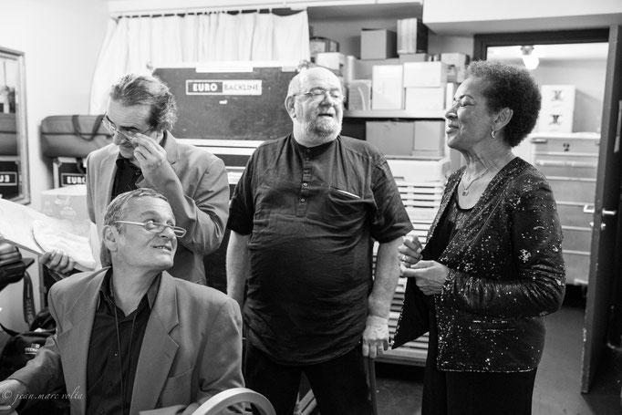 Rhoda Scott avec Philippe Chagne et Carl Schlosser