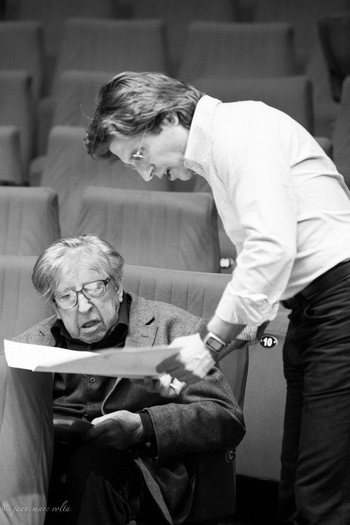 Henri Dutilleux avec Florent