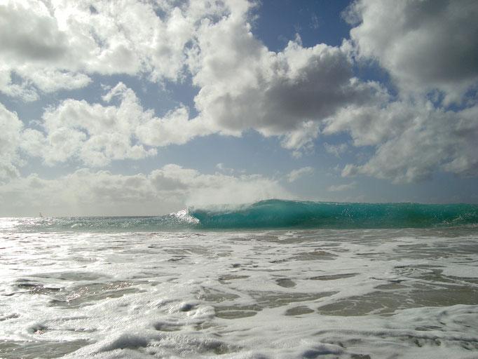Wellen am Strand von Santa Maria. Insel Sal. (C) Bubig & Neumann Kreativ-Verlag GbR.