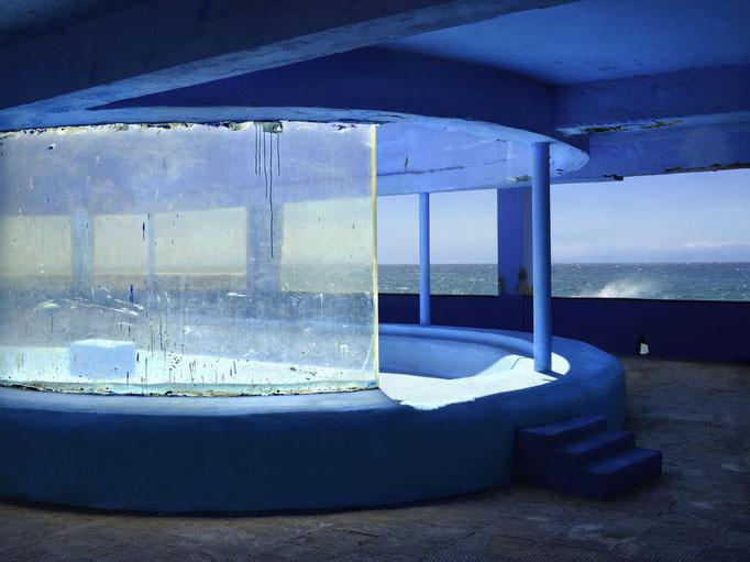 """la Marea II"" 2014, aus der Serie La Marea (die Gezeiten), Lightjetprint, Diasec Face matt, Bildmaß 112 x 150 cm"