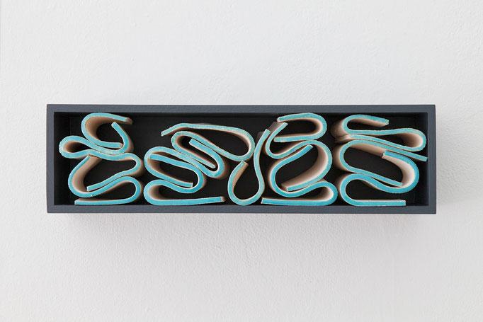 Gabriele Künne · côte d'azur, Keramik glasiert, 2017